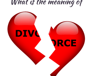 The meaning of divorce (godly marriage)