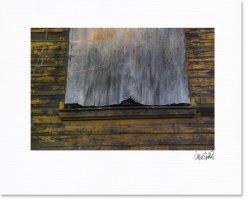 plywood curtain