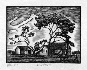 JJ Lankes woodcut