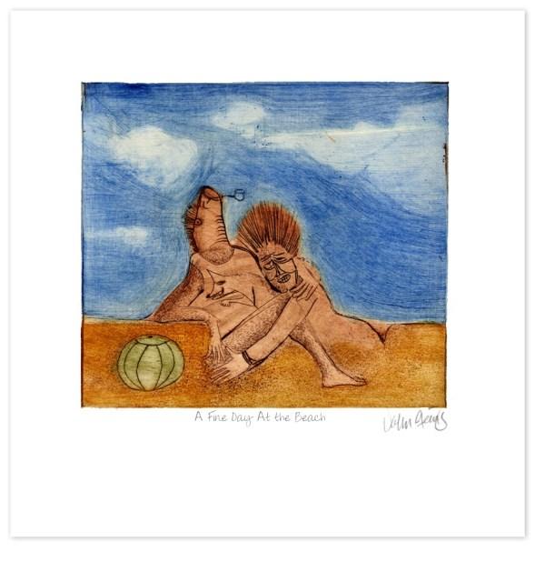 One Fine Day at the Beach ~ John Steins