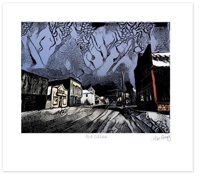 Post Offfice print y John Steins