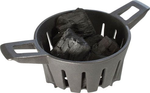 charcoal caddie basket