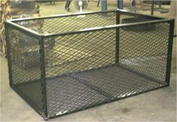 Steel Wood Bin
