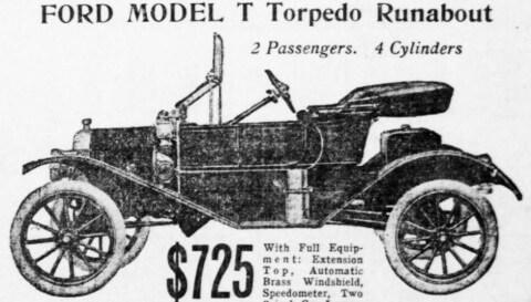 Model T Torpedo Runabout
