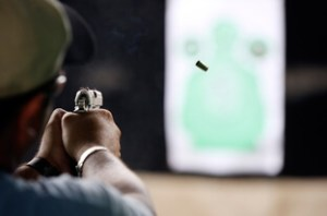 firing range in San Antonio