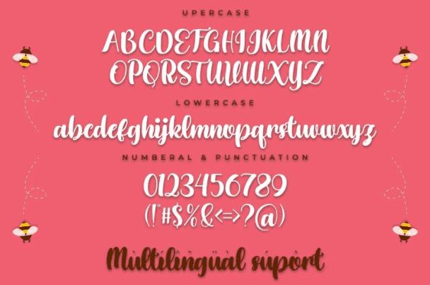 Honey Shake - Free Handwritten Font