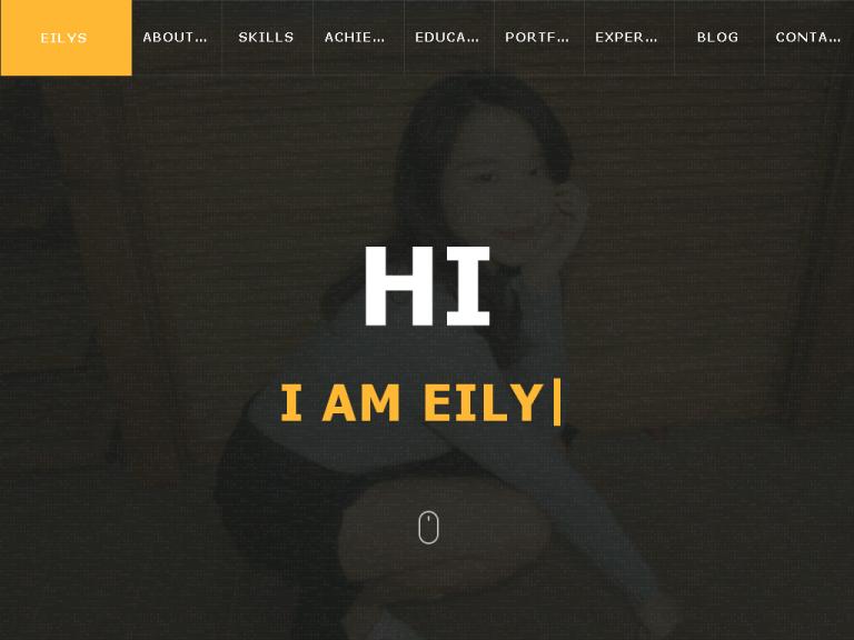 EILY 個人履歷網站