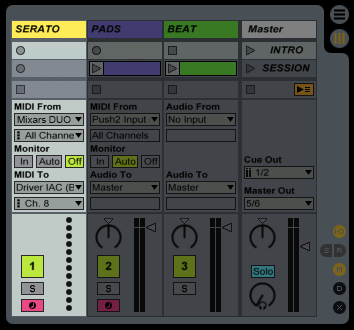 Ableton MIDI Track Settings