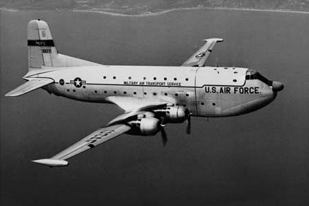 C-124 of the Military Air Transportation Service.