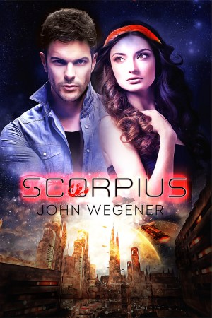 Scorpius Science Fiction Book Cover Image