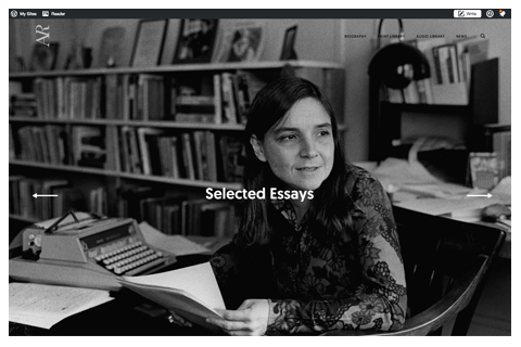 Adrienne Rich Website