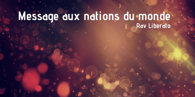 message aux nations du monde