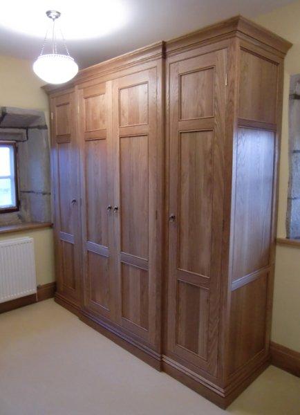 Bespoke Wooden Bedroom Furniture Built In YorkshireFine