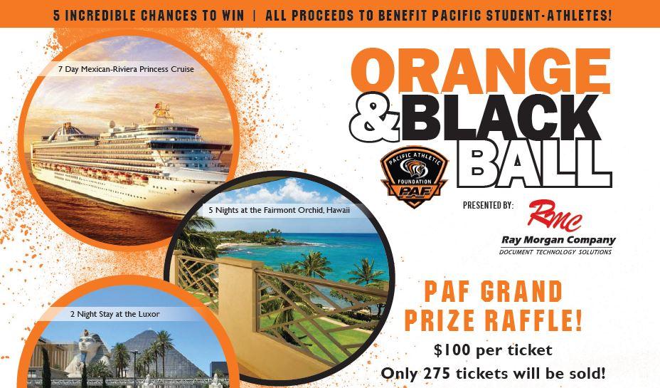 O&B Grand Prize Raffle - Pacific Athletic Foundation