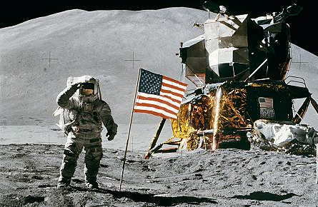 [CREATIVE WRITING EXERCISE] That moon landing moment