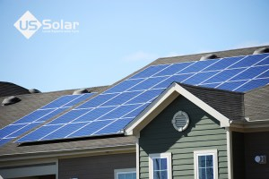 Is solar power worth it in Florida? Yes! Solar panels on roof.