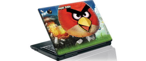 angrybirds laptop skin