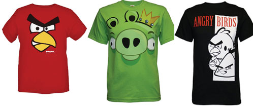 angry birds t-shirt