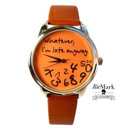 orologio fatto a mano su etsy