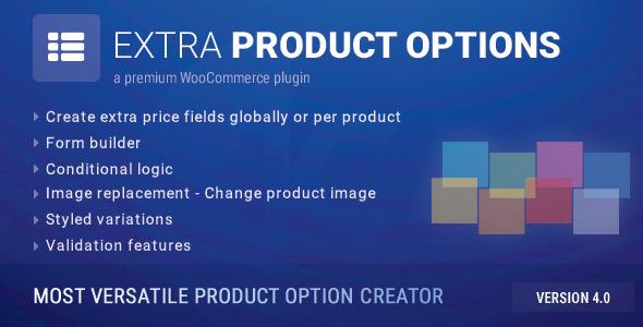 WooCommerce Extra Product Options v4.5.2