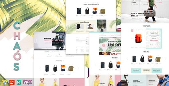 Chaos v1.4.2 - Responsive Bag Shop Theme