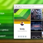 Gridy - A Responsive Grid Style Ghost Theme v1.0