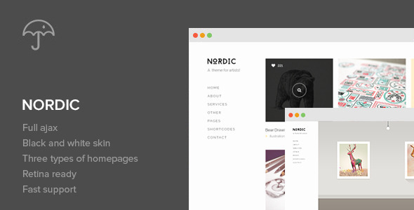 Nordic - Retina Responsive WordPress Theme v1.6.0