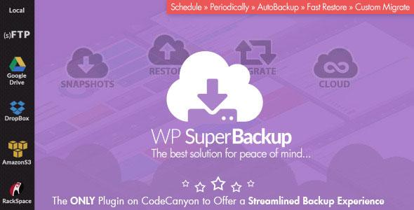 Super Backup & Clone - Migrate for WordPress v2.2