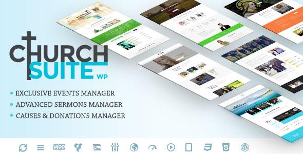 Church Suite - Responsive WordPress Theme v2.3.3
