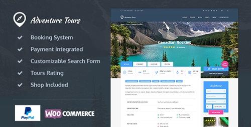 Adventure Tours - WordPress Tour/Travel Theme v3.5.1