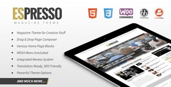 Espresso - A WordPress Theme for Restaurants v2.0.0