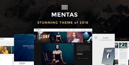 Mentas - Creative Portfolio for Freelancer or Agency v2.1.0