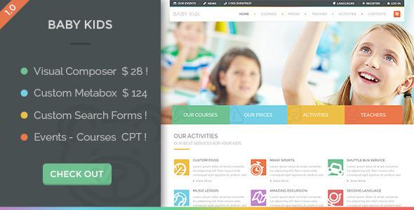Baby Kids - Education Primary School For Children v3.0