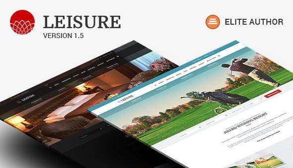 Leisure v2.1.3 - Hotel, Resort & Spa WordPress Theme