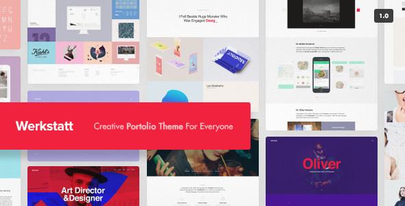 Werkstatt v2.3.4.1 - Creative Portfolio Theme