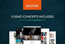 Shutter v1.0 - Photography WordPress Theme