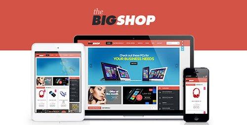 BigShop v2.0.1 - WooCommerce Responsive WordPress Theme