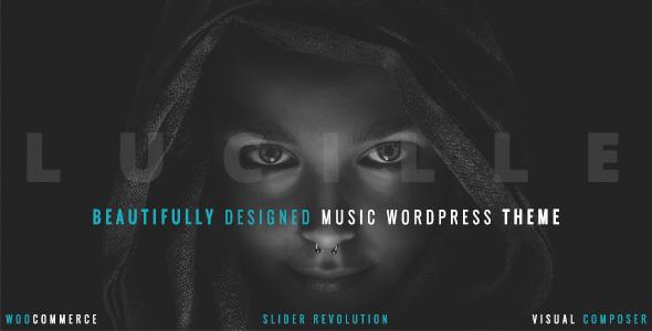 Lucille v2.0.9.2 - Music WordPress Theme