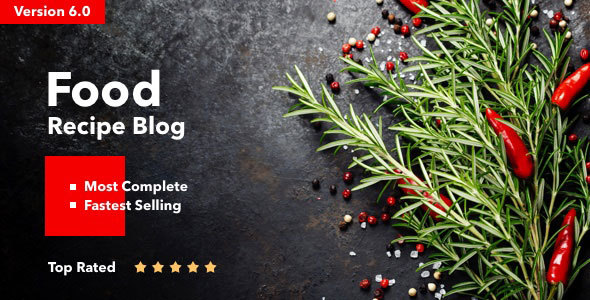 Neptune - Theme for Food Recipe Bloggers & Chefs v6.2.1