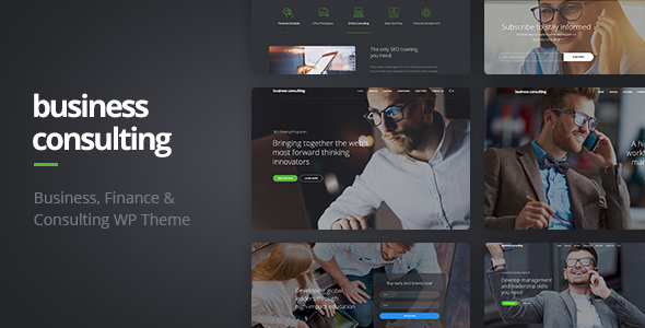 Business Consulting v1.1.4 - Coaching, Business Training & Consulting WordPress Theme