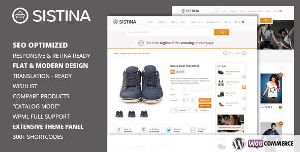 Sistina - Flat Multipurpose Shop Theme v2.1.1