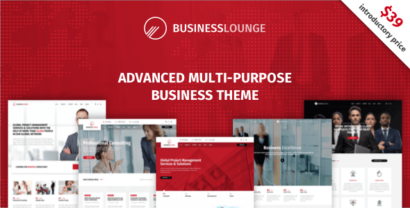 Business Lounge v1.5.1 - Multi-Purpose Business & Consulting Theme