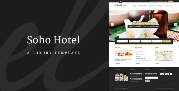 Soho Hotel - Responsive Hotel Booking WP Theme v2.0.9.1