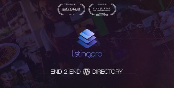 ListingPro v1.2.11 - Directory WordPress Theme