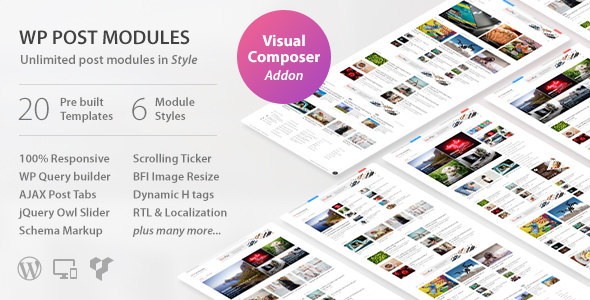 WP Post Modules for NewsPaper and Magazine Layouts v1.9.5