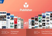 Publisher - Newspaper Magazine AMP Nulled