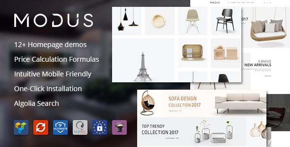 Modus v1.4.4 - Modern Furniture WooCommerce Theme