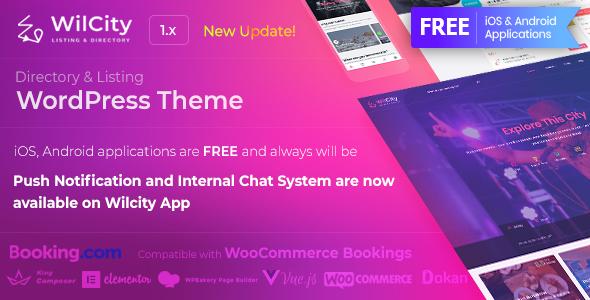 Wilcity v1.1.7 - Directory Listing WordPress Theme