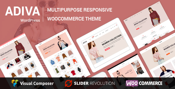 Adiva v1.8 - eCommerce WordPress Theme
