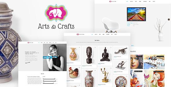 Crafts & Arts v1.3 - Artist Portfolio Theme